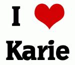 I Love Karie