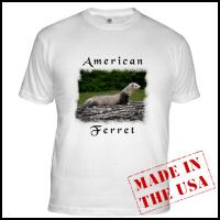 American Ferret Tee's