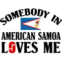 Somebody In American Samoa T-shirts