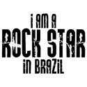 Rock Star In Brazil T-shirts