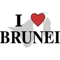 I Love Brunei T-shirts
