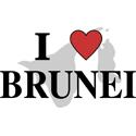 I Love Brunei T-shirts