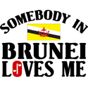 Somebody In Brunei T-shirt