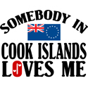 Somebody In Cook Islands T-shirts