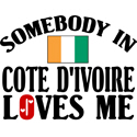 Somebody In Cote d'Ivoire T-shirt