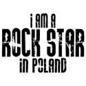 Rock Star In Poland T-shirts