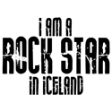 Rock Star In Iceland T-shirt