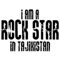 Rock Star In Tajikistan T-shirts