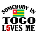 Somebody In Togo T-shirt