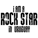 Rock Star In Uruguay T-shirts
