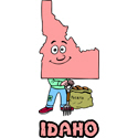 Idaho Cartoon