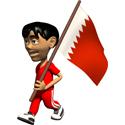 3D Bahrain T-shirt