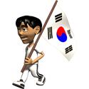 3D South Korea T-shirts