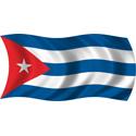 Wavy Cuba Flag