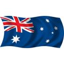 Wavy Australia Flag