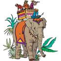 Elephant & People