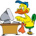 Computer Duck T-shirt