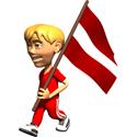 Cute 3D Latvia T-shirt