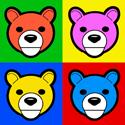 Pop Art Bear