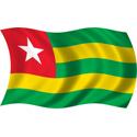 Wavy Togo Flag