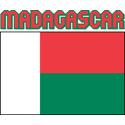 Madagascar Flag