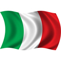 Wavy Italy Flag