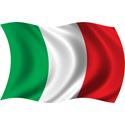 Wavy Italy Flag