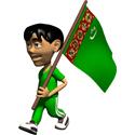 Cute 3D Turkmenistan