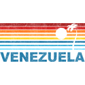 Retro Venezuela Palm Tree