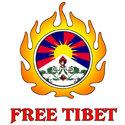 Free Tibet Flame T-shirt & Gift