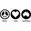 Peace Love Australia