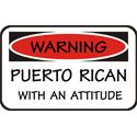 Attitude Puerto Rican