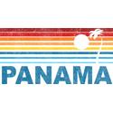 Retro Panama Palm Tree