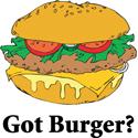 Burger T-shirt, Burger T-shirts