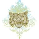 Stylized Tiger
