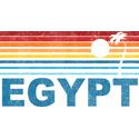 Retro Palm Tree Egypt