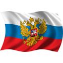 Wavy Russia Flag