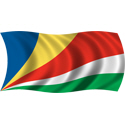 Wavy Seychelles Flag