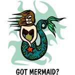 Mermaid T-shirt, Mermaid T-shirts