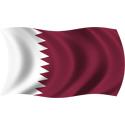 Wavy Qatar Flag