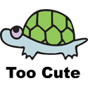 Too Cute Turtle