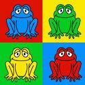Pop Art Frog