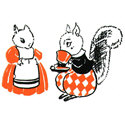 Retro Squirrel