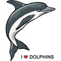 I Love Dolphins