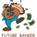 Banker T-shirt, Banker T-shirts