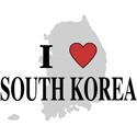 I Love South Korea Gifts