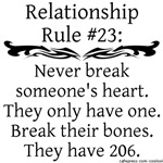 Break Bones, Not Hearts