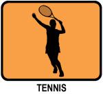 Womens Tennis (orange)