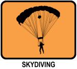 Skydiving (orange)