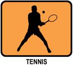 Mens Tennis (orange)